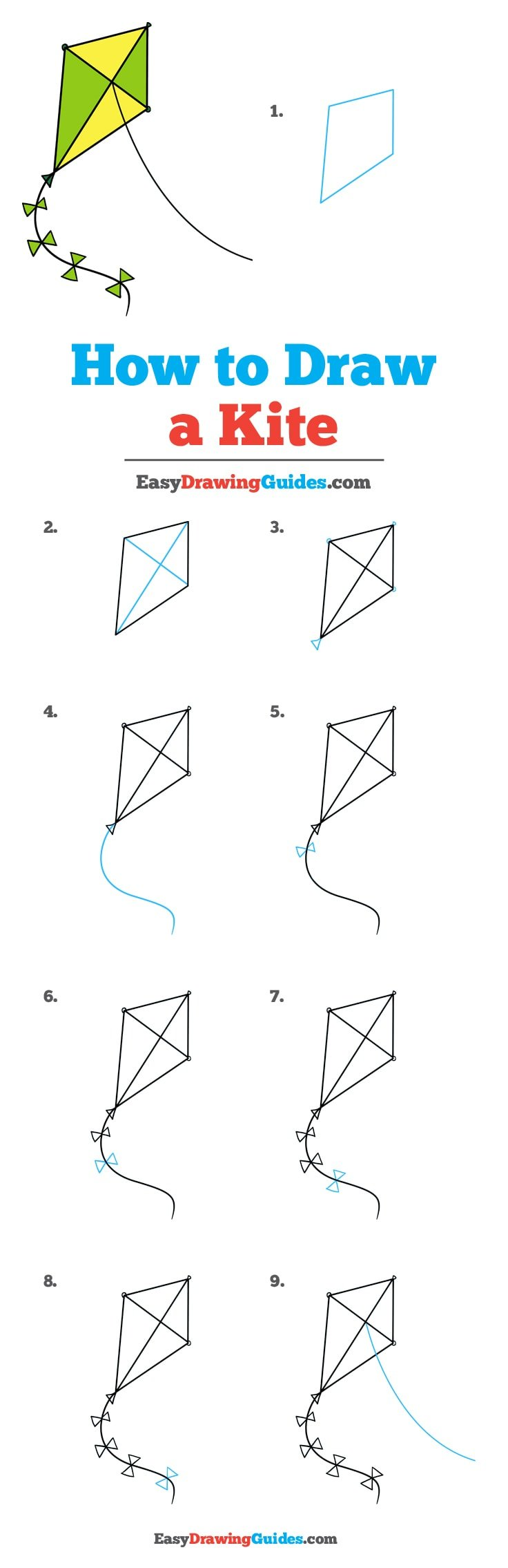 How to Draw Kite