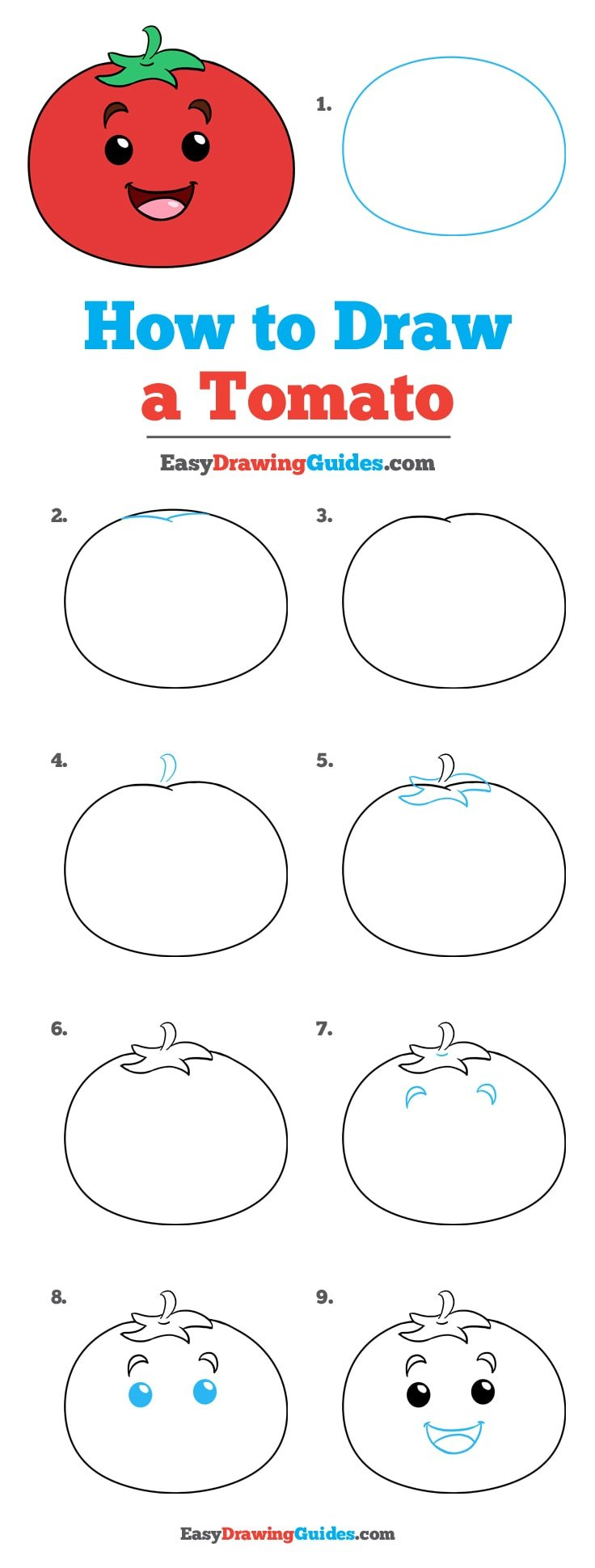 How to Draw Tomato