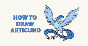 How to Draw Articuno: Featured Image