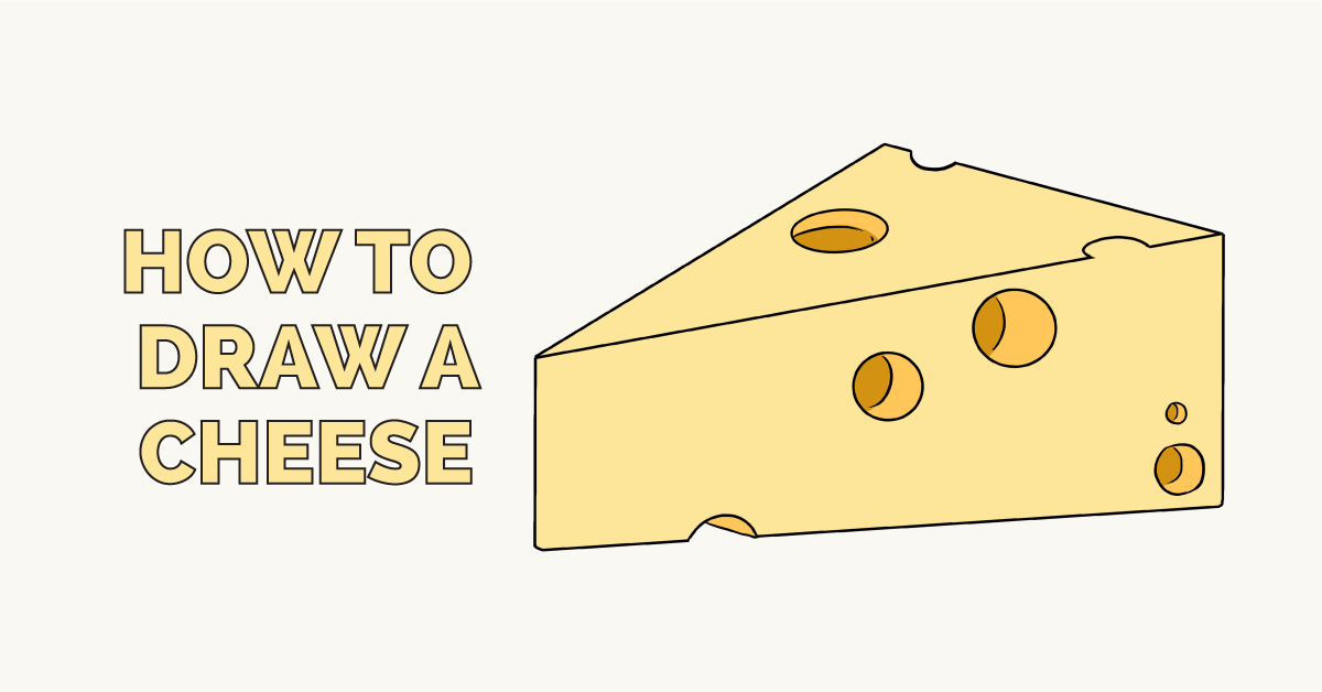 How to Draw a Cheese: Featured Image