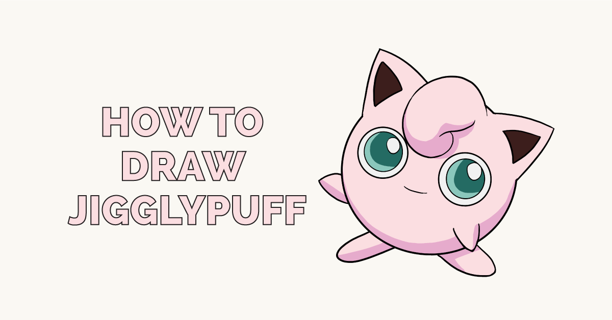 How to Draw Jigglypuff: Featured Image
