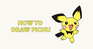 How to Draw Pichu: Featured Image