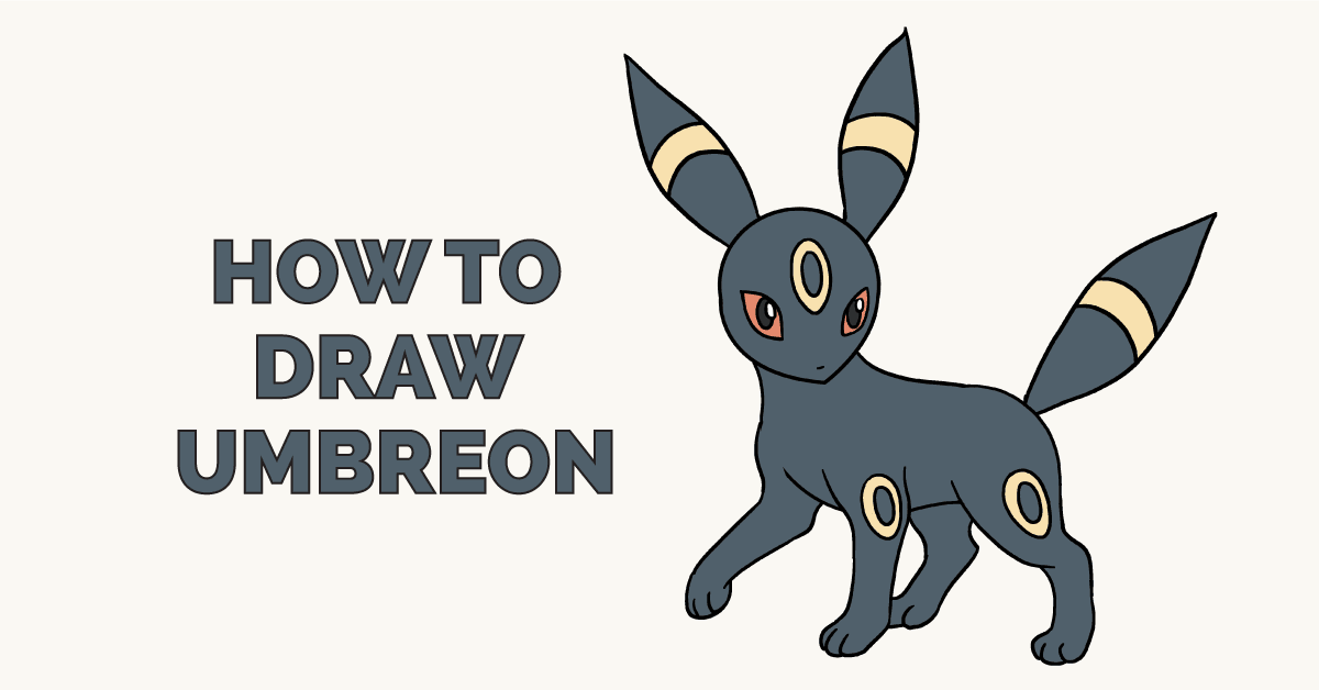 How to Draw Umbreon: Featured Image