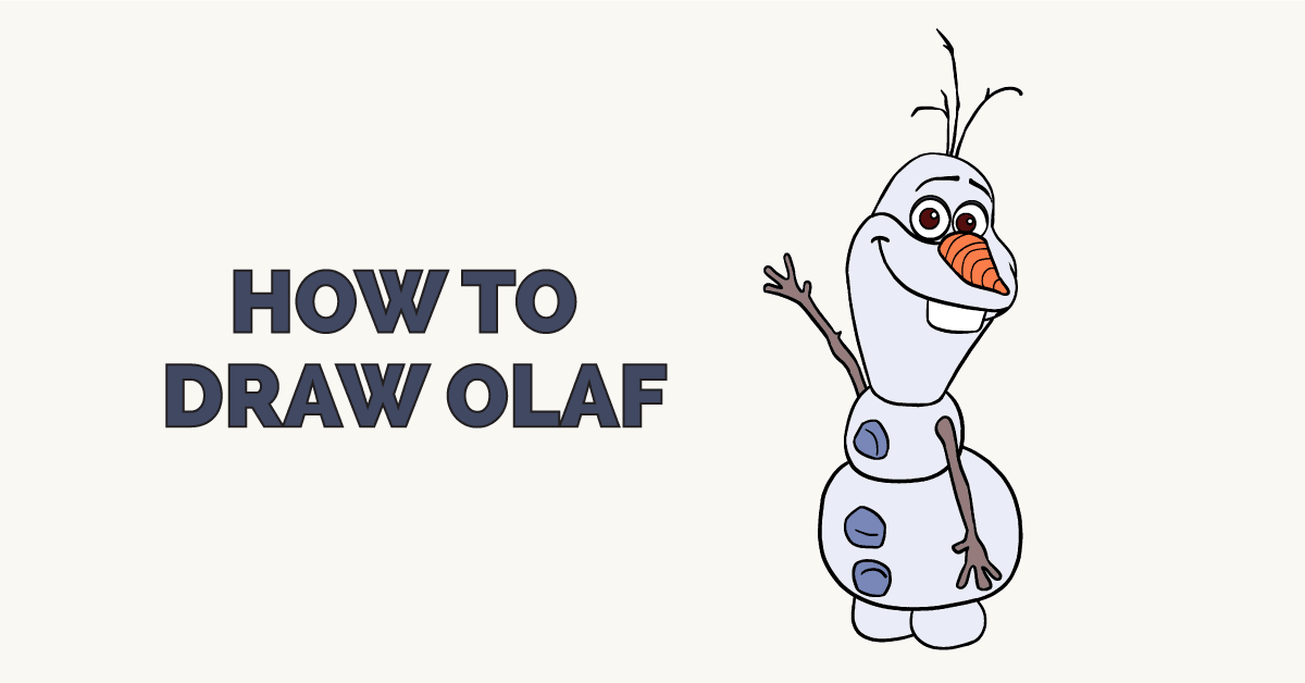 How to Draw Olaf: Featured Image