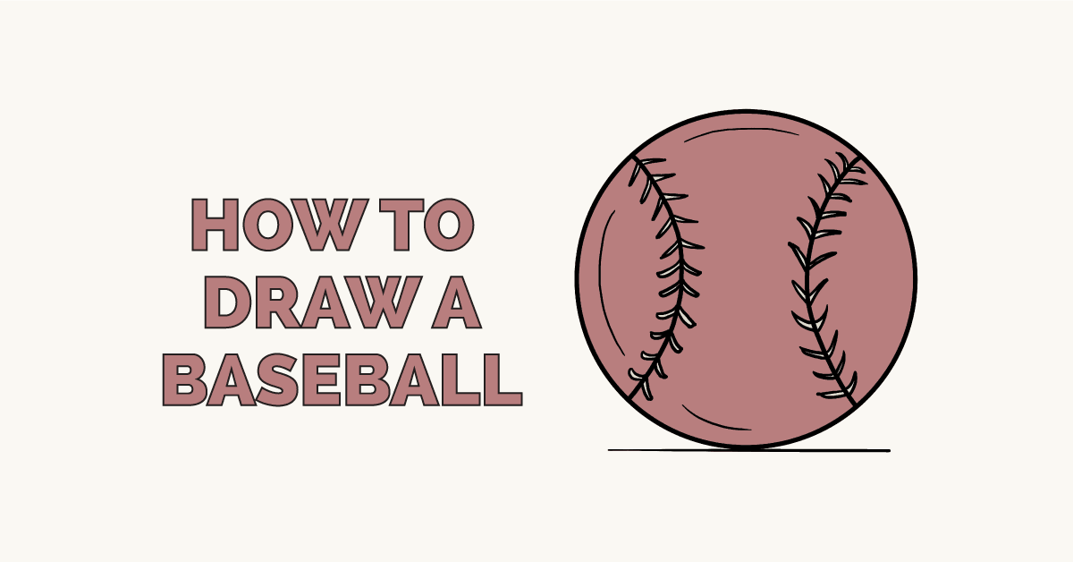 How to Draw a Baseball: Featured Image