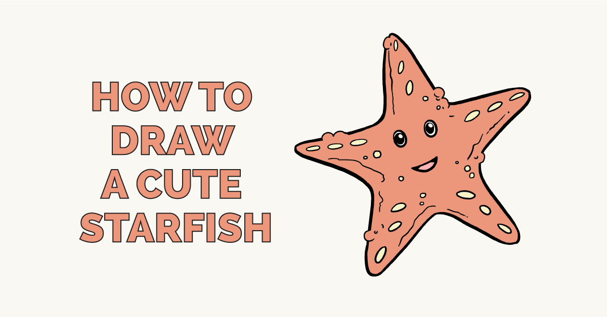 Incredible How To Draw A Cute Starfish Really Easy Drawing Tutorial Download Free Architecture Designs Scobabritishbridgeorg