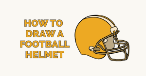 How to Draw a Football Helmet: Featured Image