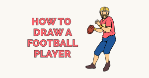 How to Draw a Football Player: Featured Image