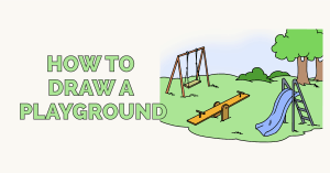 How to Draw a Playground: Featured Image