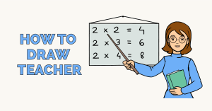 How to Draw a Teacher: Featured Image