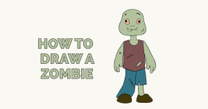 How to Draw a Zombie: Featured Image