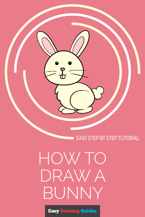 How to draw a bunny rabbit - pinterest
