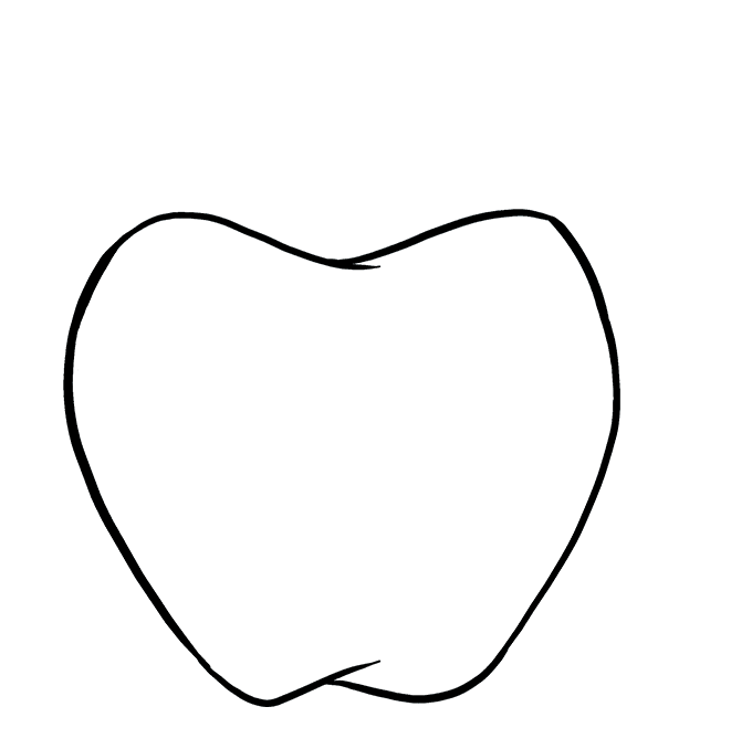 How to Draw Apple: Step 5