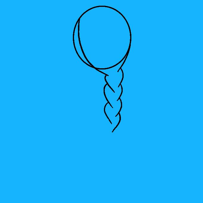 How to Draw Braid: Step 4