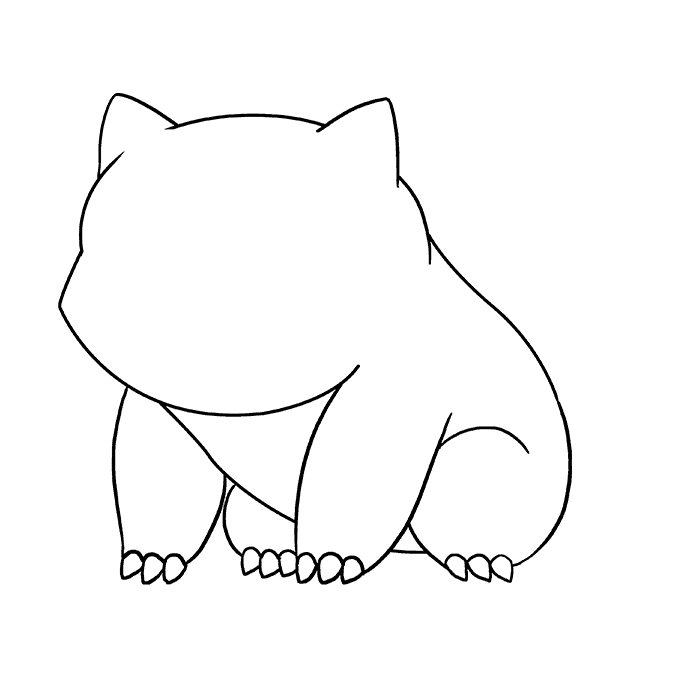 How to Draw Bulbasaur: Step 6