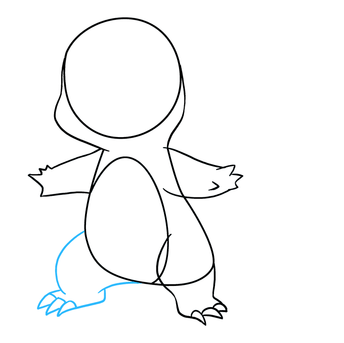 How to Draw Charmander: Step 6