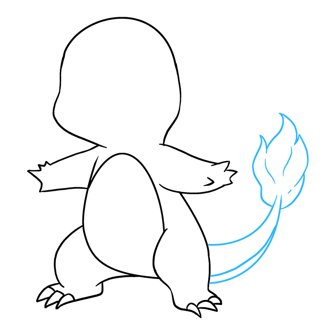 How to Draw Charmander: Step 8