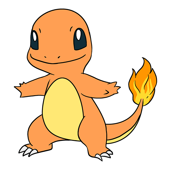 How to Draw Charmander: Step 10