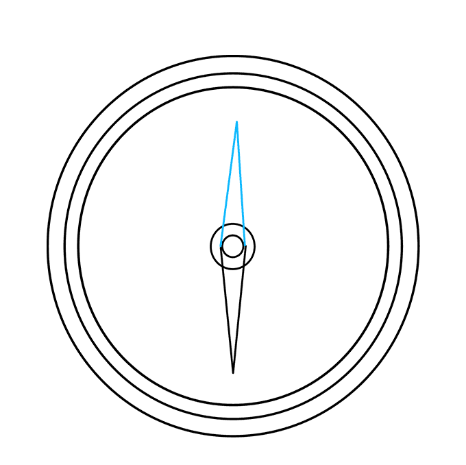 How to Draw Compass: Step 5