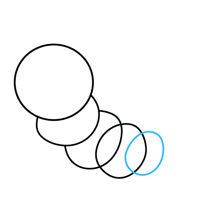 How to Draw Cute Caterpillar: Step 5