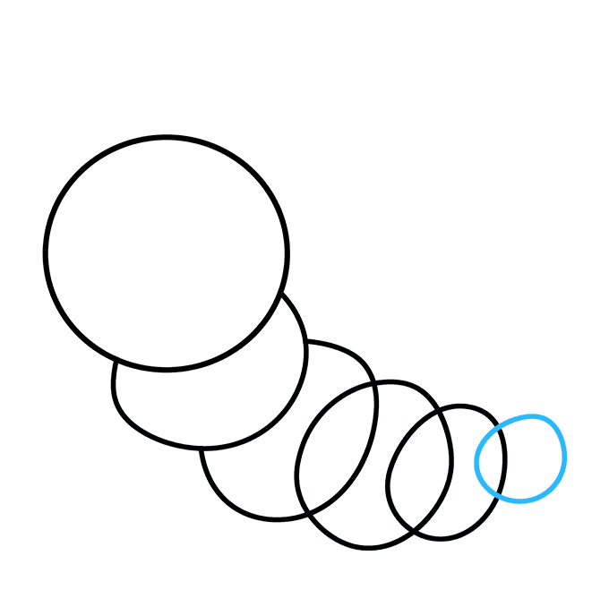 How to Draw Cute Caterpillar: Step 6