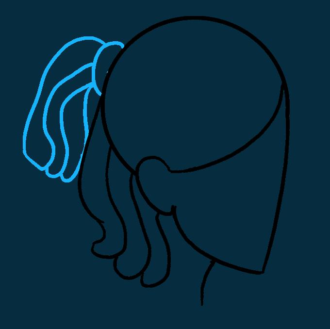 How to Draw Dreadlocks: Step 6