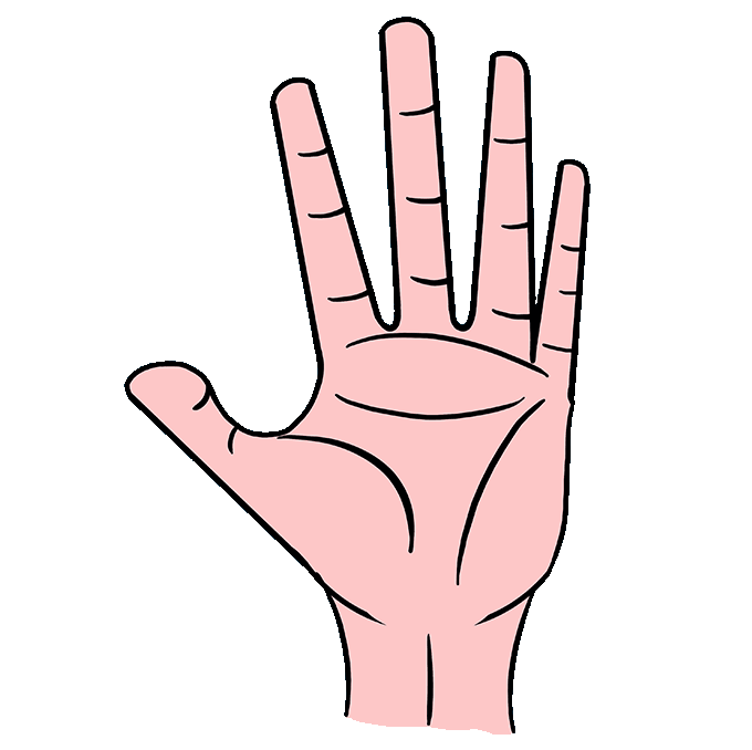 How to Draw Hand: Step 10