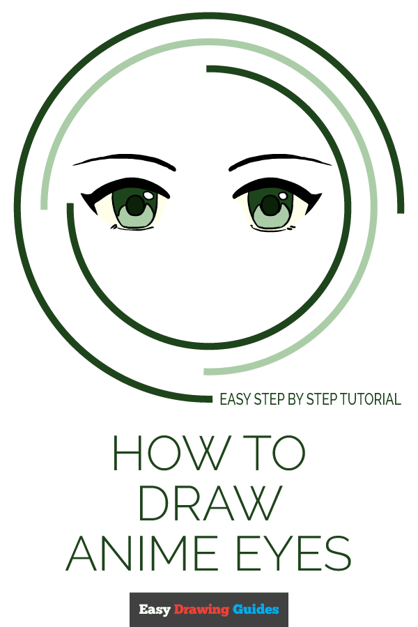 How to Draw Anime Eyes | Share to Pinterest