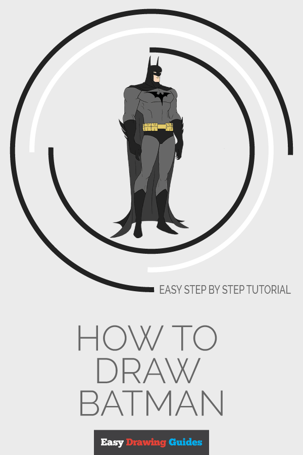 How to Draw Batman | Share to Pinterest