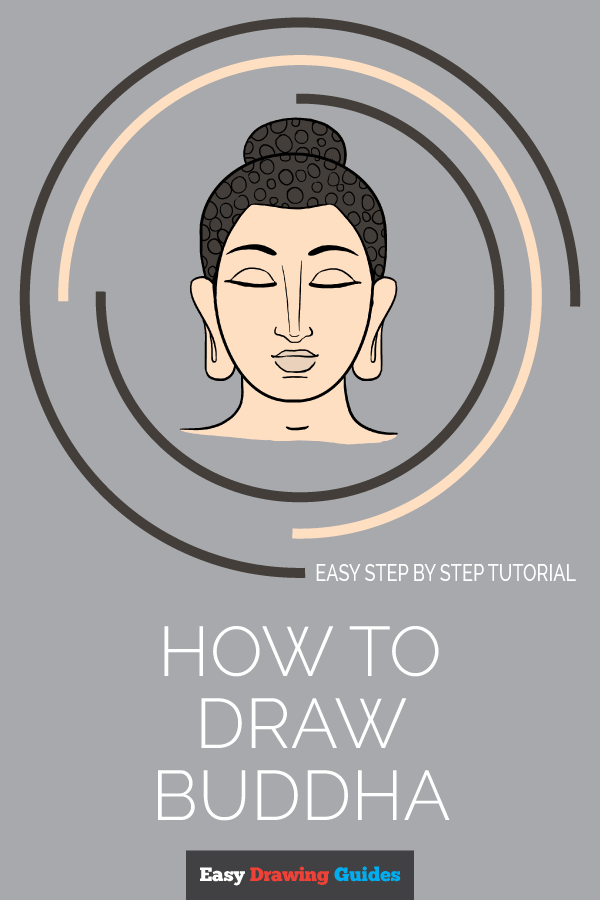 How to Draw Buddha | Share to Pinterest