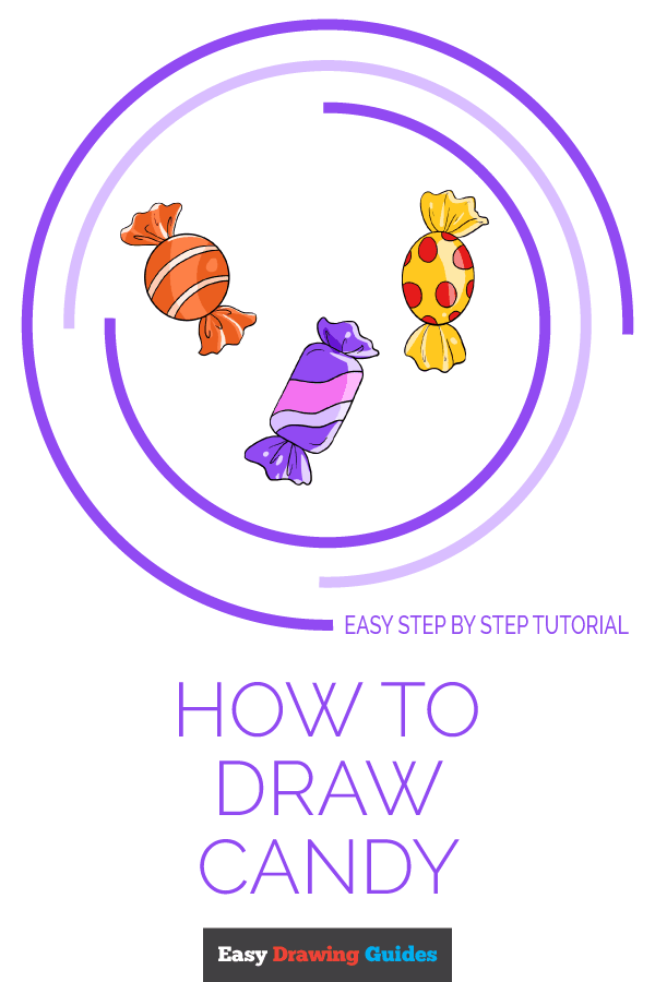 How to Draw Candy | Share to Pinterest