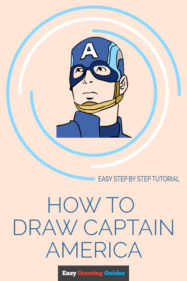 How to Draw Captain America | Share to Pinterest