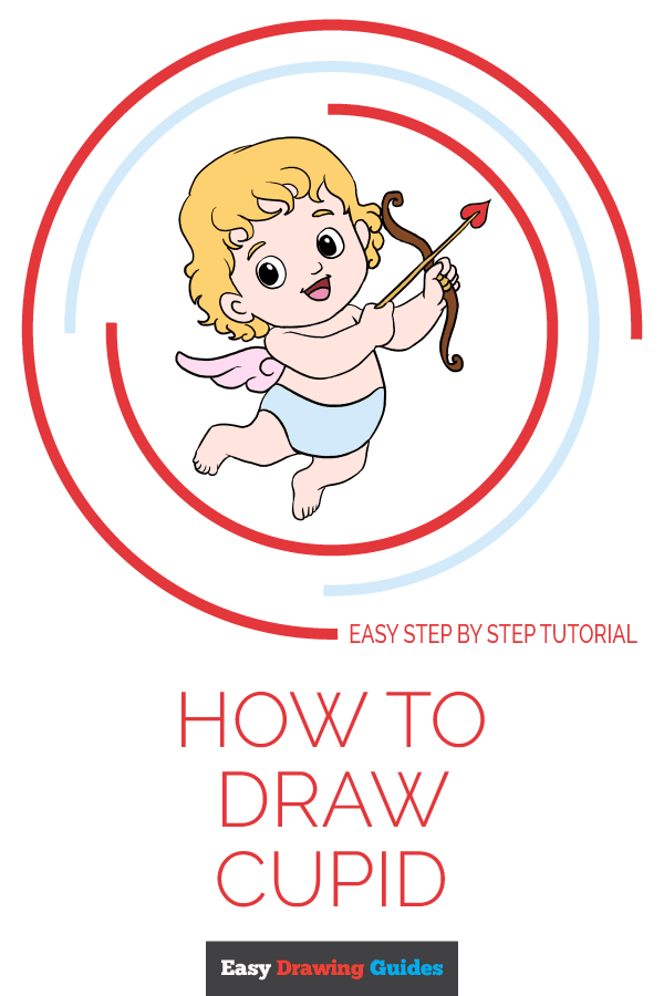 How to Draw Cupid | Share to Pinterest