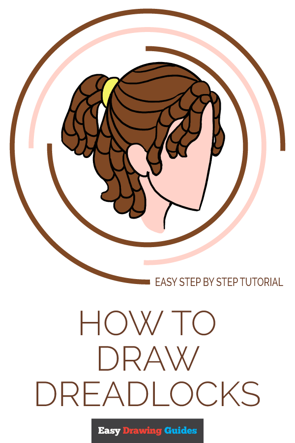 How to Draw Dreadlocks | Share to Pinterest