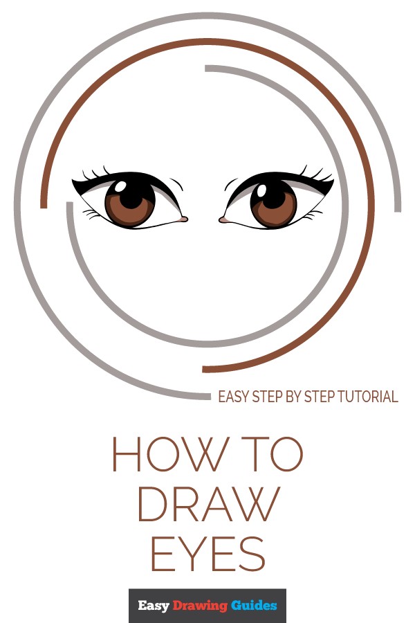 How to Draw Eyes | Share to Pinterest