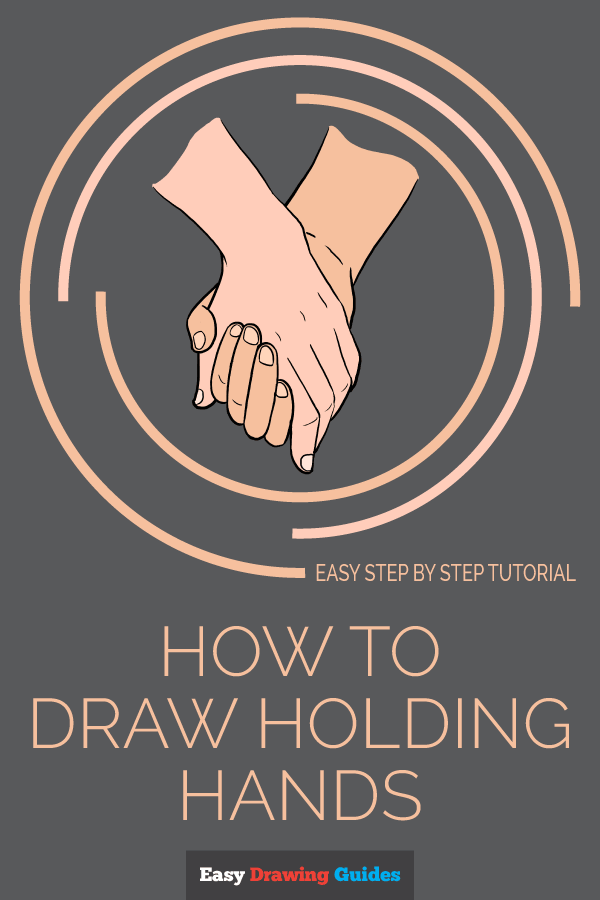How to Draw Holding Hands | Share to Pinterest