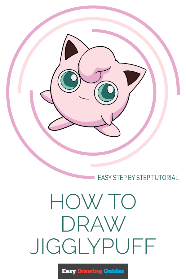 How to Draw Jigglypuff | Share to Pinterest
