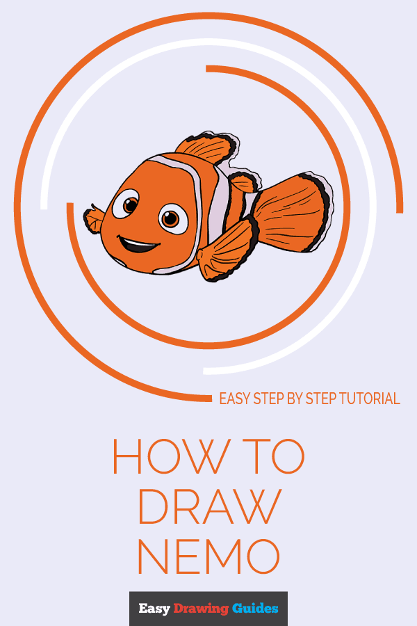 How to Draw Nemo | Share to Pinterest