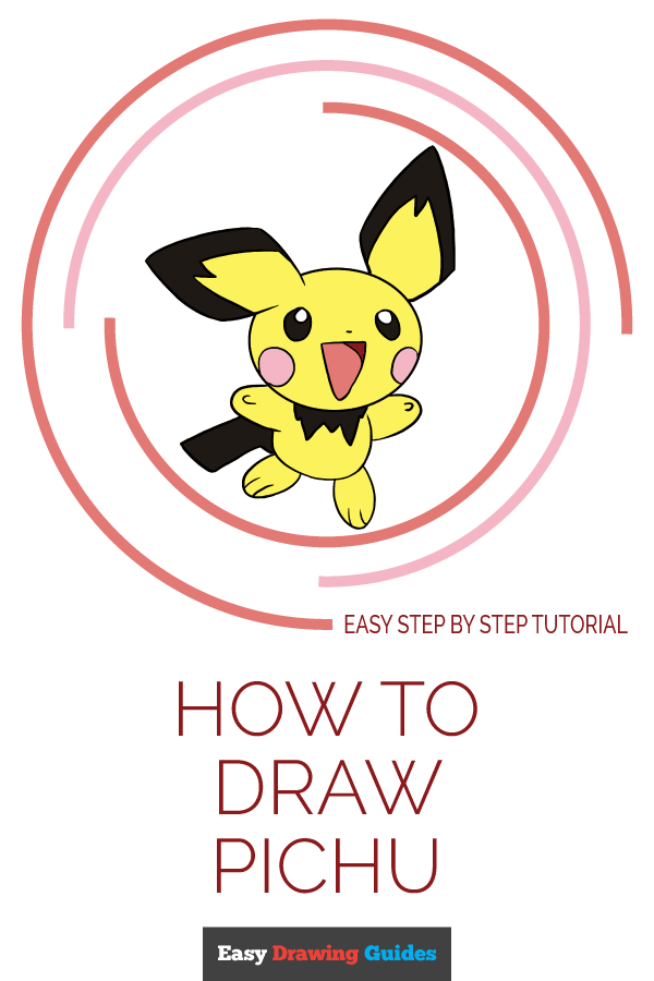 How to Draw Pichu | Share to Pinterest