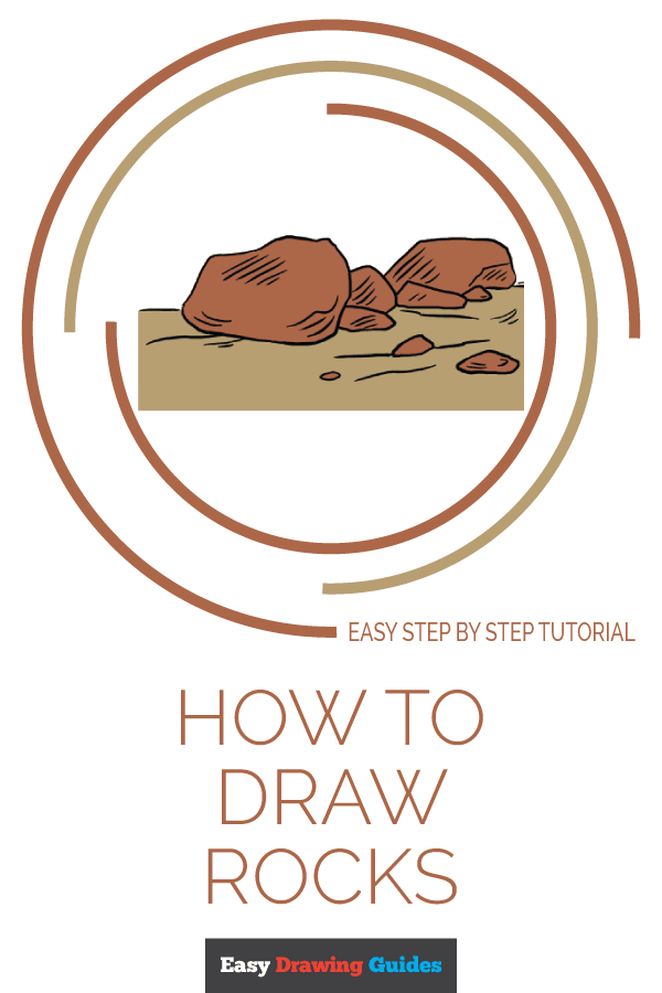 How to Draw Rocks | Share to Pinterest