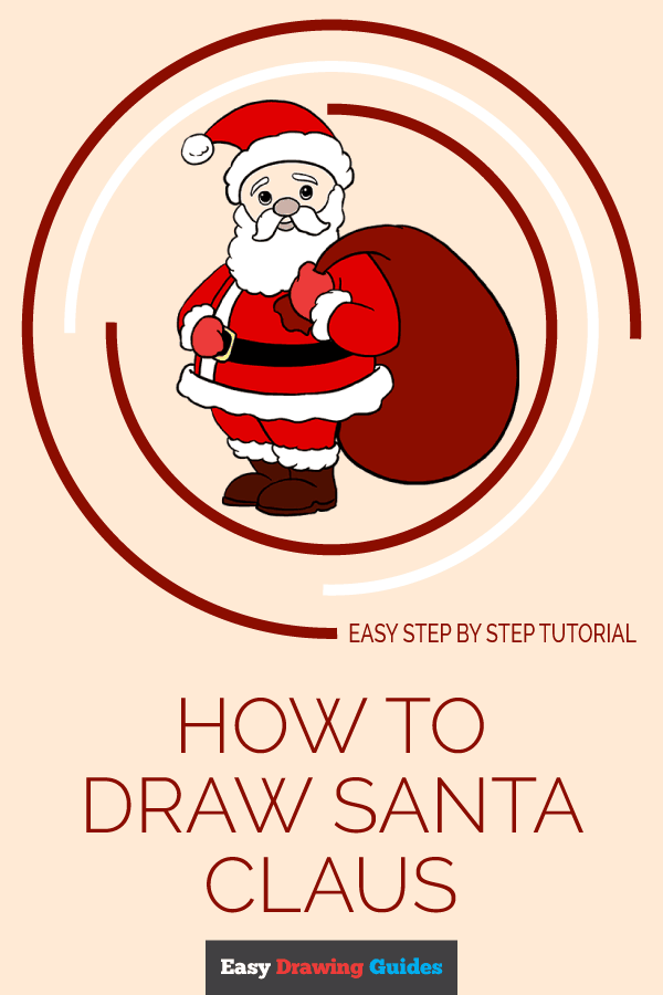 The Best Santa Claus Drawing Easy For Kids
