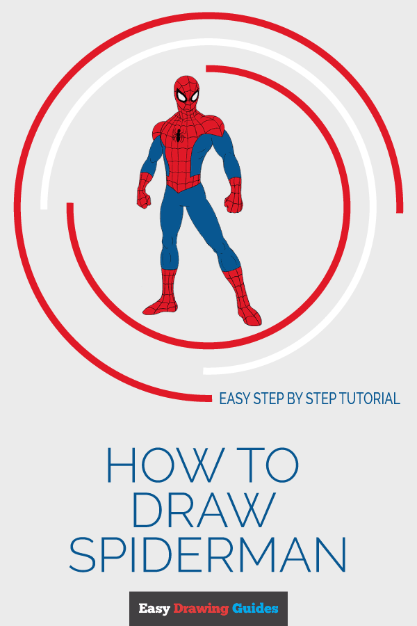 How to Draw Spiderman | Share to Pinterest