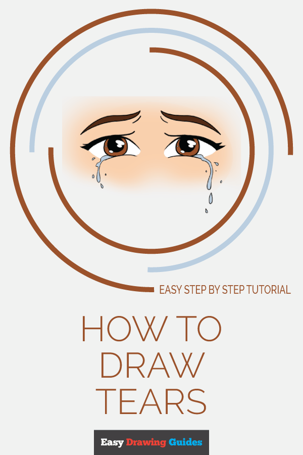 How to Draw Tears | Share to Pinterest