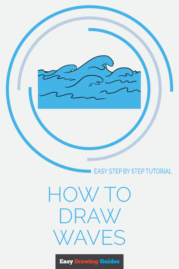 How to Draw Waves | Share to Pinterest