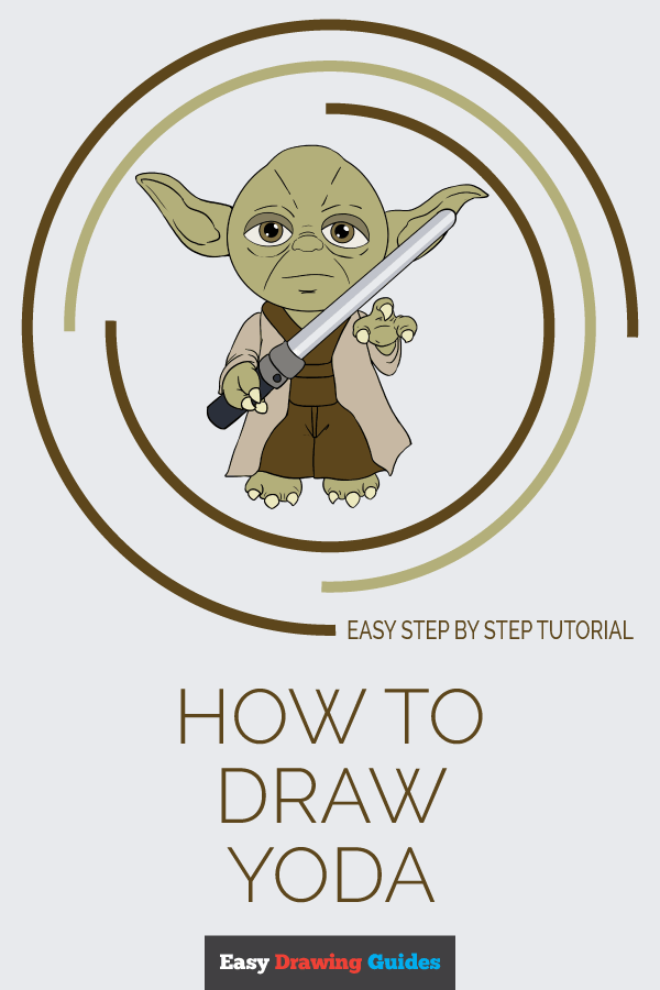 How to Draw Yoda | Share to Pinterest