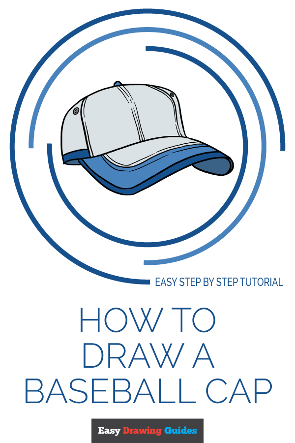 How to Draw Baseball Cap | Share to Pinterest