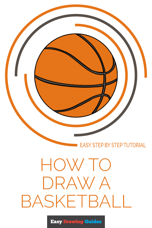How to Draw Basketball | Share to Pinterest