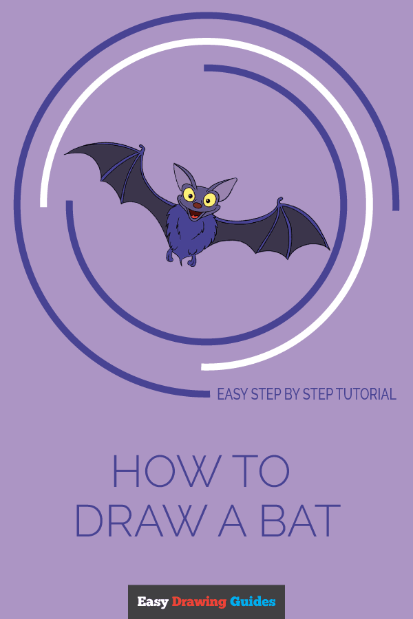 How to Draw Bat | Share to Pinterest