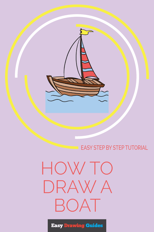 How to Draw Boat | Share to Pinterest