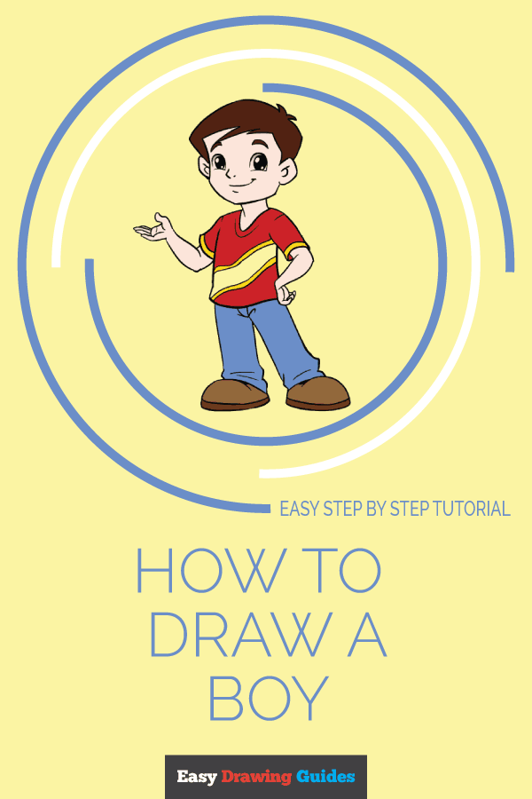 How to Draw Boy | Share to Pinterest